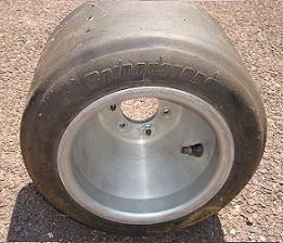 Bridgestone Kart Tire