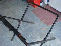 A Fold Up Kart Stand